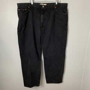 Levi's 550 Black Jeans